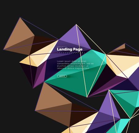 Polygonal geometric design