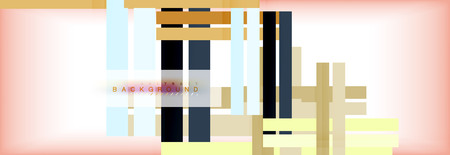 Color stripes and lines, geometric abstract background, vector modern template