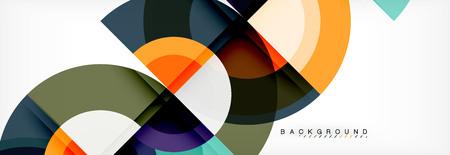 Vector circular abstract background Vectores