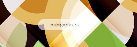 Vector circular abstract background 일러스트