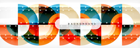 Vector circular abstract background 向量圖像
