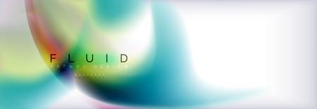 Abstract background holographic liquid colors design Reklamní fotografie - 108086529