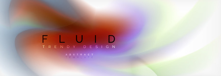 Abstract background holographic liquid colors design Reklamní fotografie - 108324199