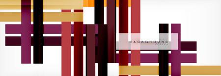 Abstrakter Hintergrund des minimalen Liniendesigns, Vektorillustration