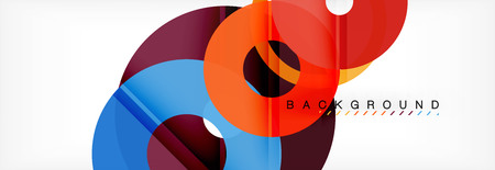 Modern geometrical abstract background, vector illustration