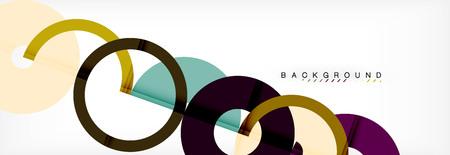 Modern geometrical abstract background Vecteurs