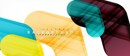 Shiny glossy arrows background, clean modern geometric design, futuristic composition 向量圖像