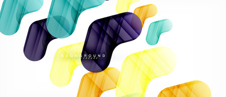 Shiny glossy arrows background, clean modern geometric design, futuristic composition 向量圖像