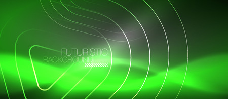 Vector neon color abstract background, vector design