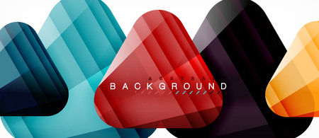 Geometric abstract background, triangles
