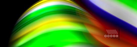 Fluid liquid wave pattern, vector background