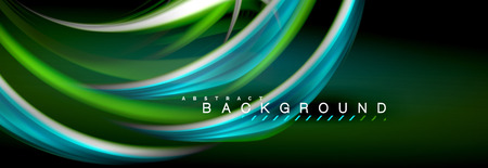 Blurred fluid colors background, abstract waves lines, mixing colours with light effects on light backdrop. Artistic illustration for presentation, app wallpaper, banner or posters