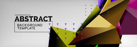 Triangles  techno template