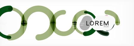 Circular lines design background, vector circle