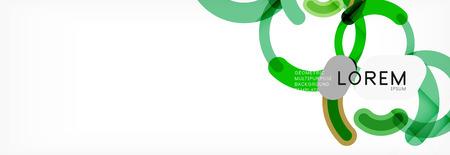 Circular lines design background, vector circle Reklamní fotografie - 117410992