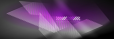 Shiny glowing lights neon color design background, vector  イラスト・ベクター素材