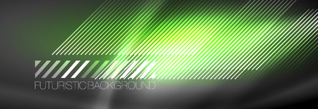 Shiny glowing lights neon color design background, vector Illustration