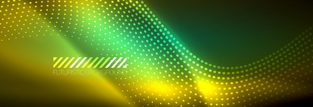 Motion vector illustration. Network digital concept. Abstract futuristic backdrop. Abstract pattern. Big data visualization. Vector background abstract technology communication data science. Ilustração