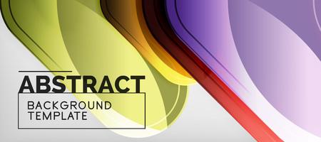Light effects glossy arrows background, vector illustration Иллюстрация
