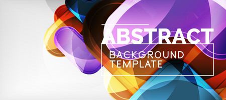 Shiny glossy arrows background, clean modern geometric design, futuristic composition, vector illustration