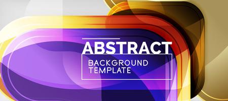 Light effects glossy arrows background, vector illustration Illustration