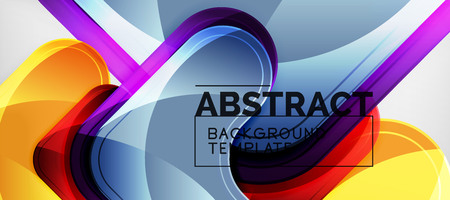 Arrow background, modern style geometry design element. Vector illustration for wallpaper, presentation, header, card, poster, invitation. Abstract backdrop Standard-Bild - 118742866