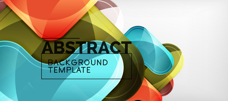 Arrow background, modern style geometry design element. Vector illustration for wallpaper, presentation, header, card, poster, invitation. Abstract backdrop Illustration