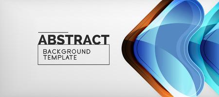 Arrow background, modern style geometry design element. Vector illustration for wallpaper, presentation, header, card, poster, invitation Standard-Bild - 118811722