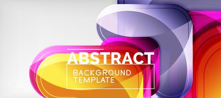 Arrow background, modern style geometry design element. Vector illustration for wallpaper, presentation, header, card, poster, invitation. Abstract backdrop Ilustração