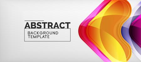 Arrow background, modern style geometry design element. Vector illustration for wallpaper, presentation, header, card, poster, invitation. Abstract backdrop Standard-Bild - 118869152