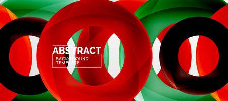 Vector rings abstract background