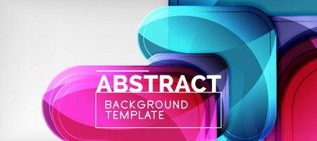 Techno lines, hi-tech futuristic abstract background template with arrow shapes Иллюстрация