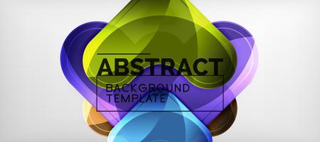 Arrow background, modern style geometry design element. Vector illustration for wallpaper, presentation, header, card, poster, invitation Standard-Bild - 119084875