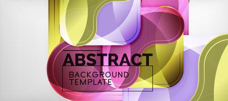 Light effects glossy arrows background, vector illustration Illusztráció