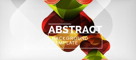 Arrow background, modern style geometry design element. Vector illustration for wallpaper, presentation, header, card, poster, invitation Standard-Bild - 119831792