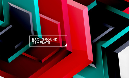 Arrow geometrical abstract background, directional wallpaper concept, vector illustration