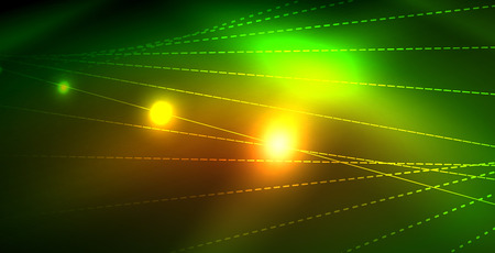 Shiny neon space background Ilustração