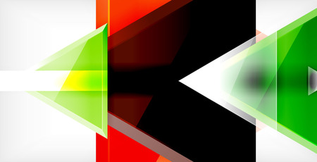Triangle abstract background 向量圖像