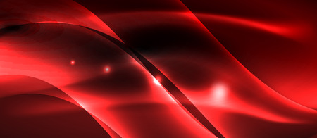 Neon light abstract waves design Banque d'images - 122515670