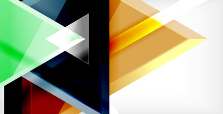 3d triangular vector minimal abstract background design, abstract poster geometric design, vector illustration