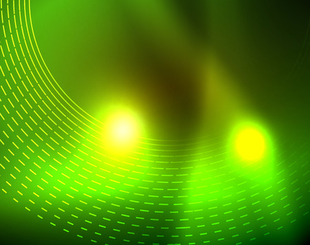 Shiny circles glowing abstract background. Vector illustration Hình minh hoạ