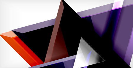 3d triangular vector minimal abstract background design, abstract poster geometric design 矢量图像
