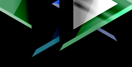 Dynamic triangle composition abstract background 写真素材 - 122365271