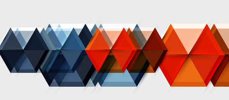 Hexagon abstract background, geometrical modern template  イラスト・ベクター素材