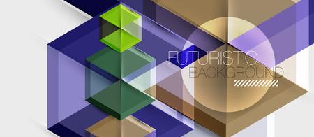 Hexagon vector business presentation or brochure template, technology modern design