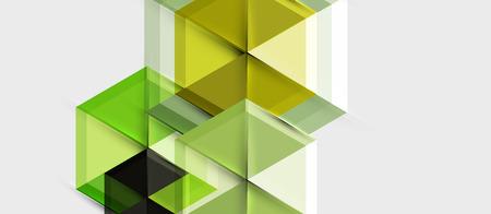 Hexagon vector business presentation or brochure template, technology modern design, vector illustration Vettoriali