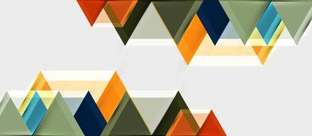 Hexagon abstract background, geometrical modern template, vector business presentation wallpaper design Ilustrace
