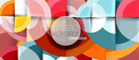 Circular geometrical design template