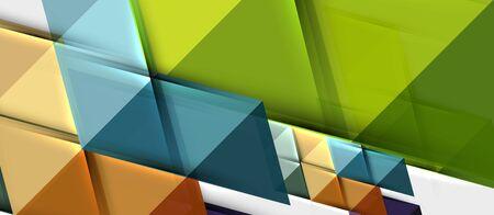Modèle de conception de présentation d'entreprise moderne géométrique triangle, motif abstrait pour tout arrière-plan Vecteurs