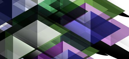 Colorful repeating triangles modern geometric in contemporary style on white background. Abstract geometric shape. Modern stylish texture. Vector abstract graphic design. Illustration